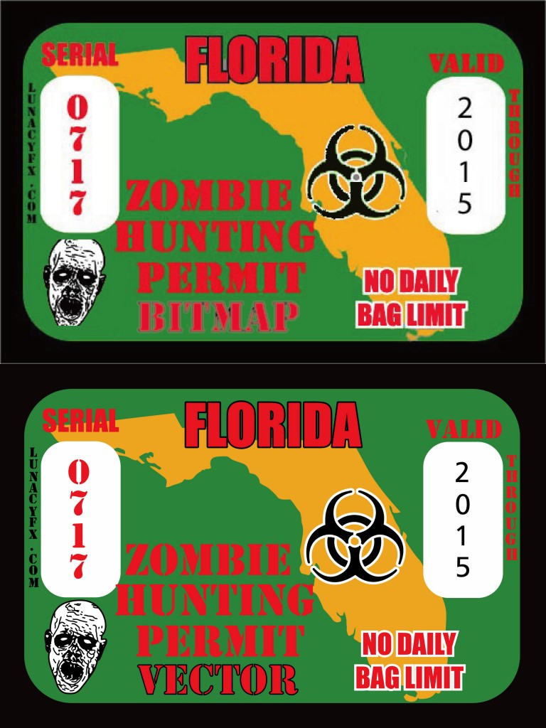 beforeafter florida zombie hunting permit