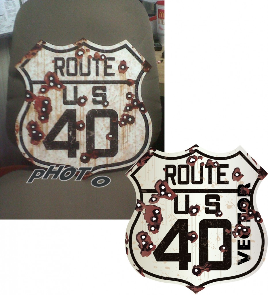 beforeafter route 40 sign