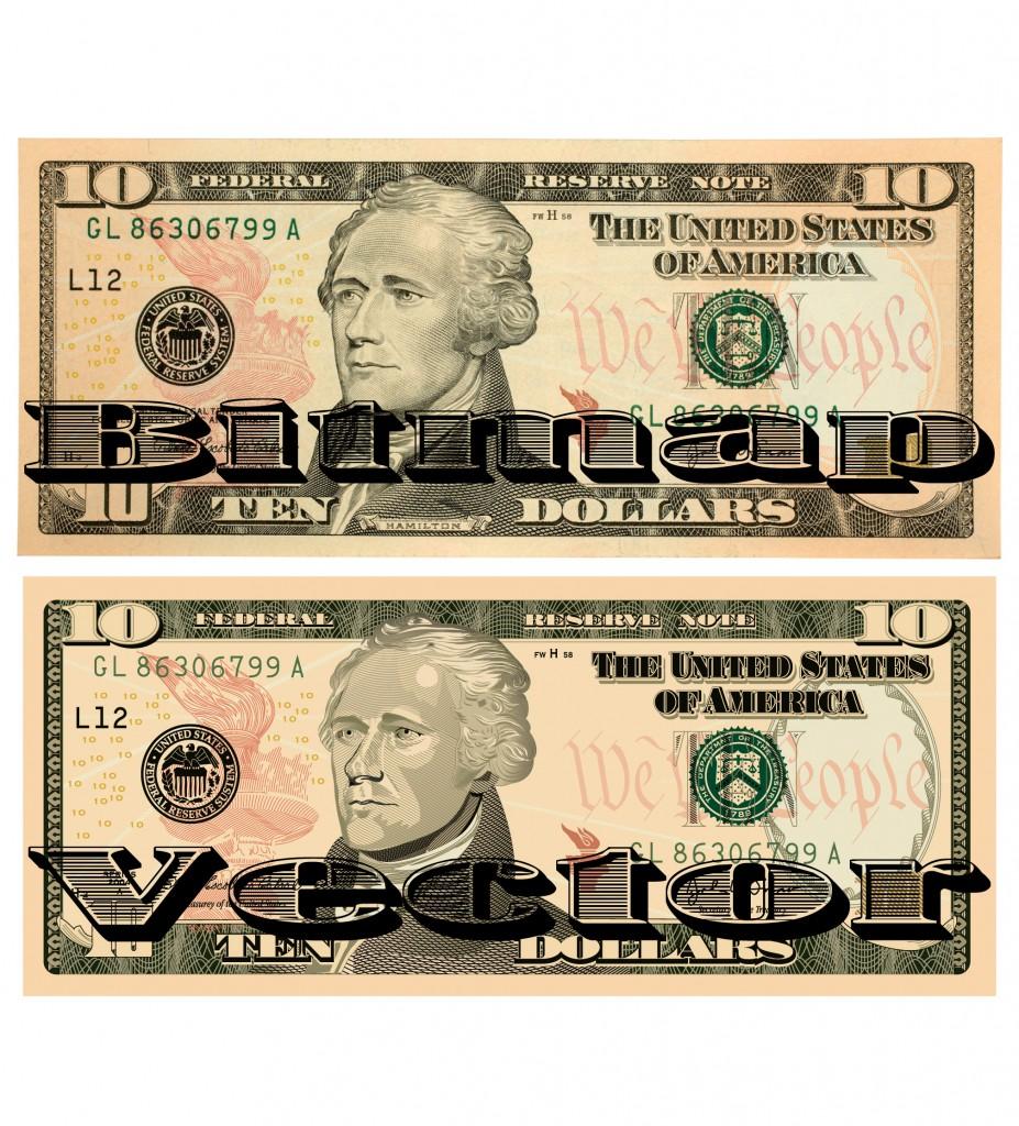 beforeafter ten dollar bill
