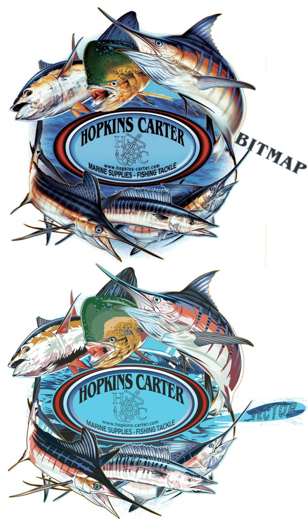 beforeafter  Hopkins Carter Marine Supplies  Fishing Tackle