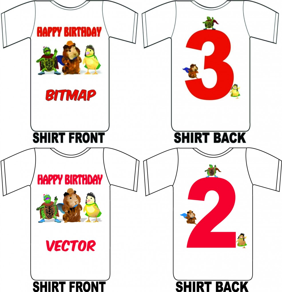 beforeafter happy birthday shirt